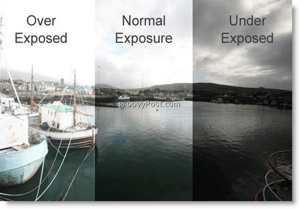 Example of 3 multiple exposure photo