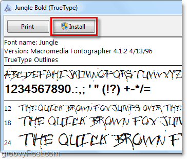 How-To Add Custom Fonts To Windows 7