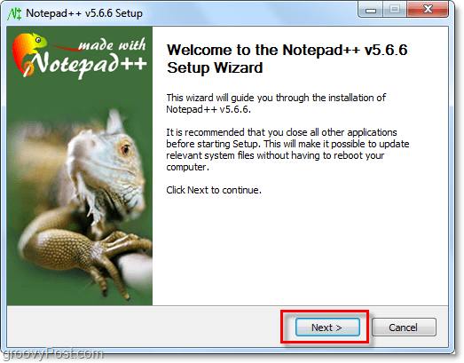 how to install notepad++ to replace notepad