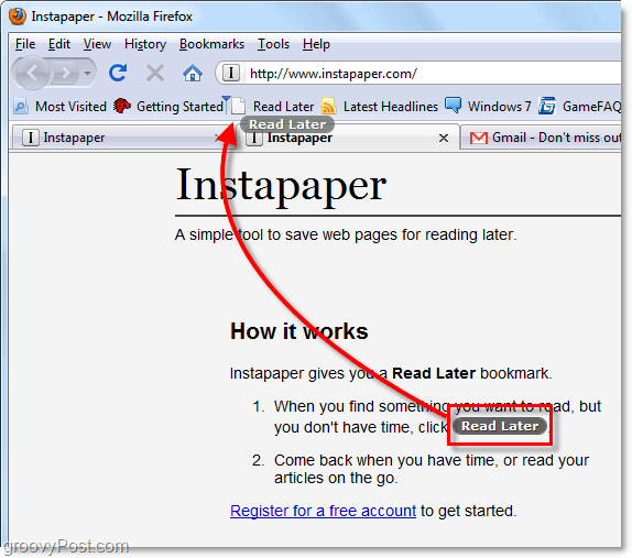 add the instapaper bookmarklet