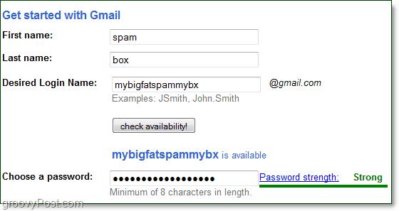 create a permanent proxy address