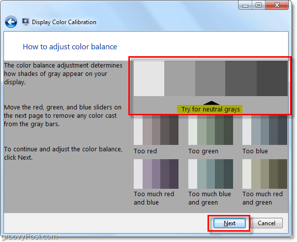 nuetral colors for windows 7 are shown in the example, try to match them