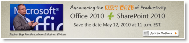 Microsoft Office 2010 Launch Event