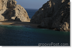 Cabo San Lucas Mexico Cliffs and Beaches Lovers Beach