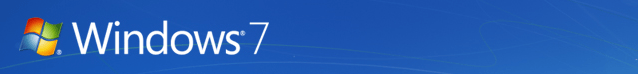 Windows 7 Banner Logo