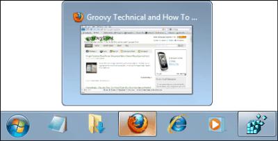 Groovy Trick For Resizing The Taskbar Thumbnails In Windows 7