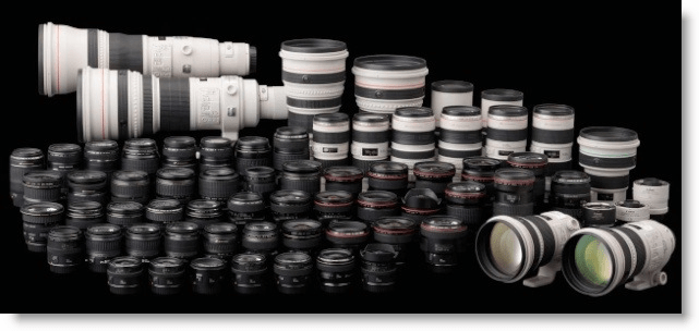Canon Pro Lenses Screenshot