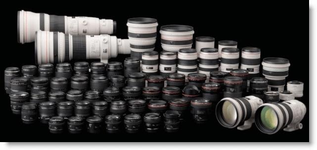 Canon Pro Lenses Screenshot