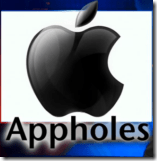 New Apple logo - Appholes