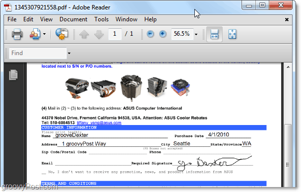 view your pdf file to make sure it turned out right