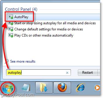 windows 7 autoplay menu