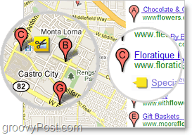advertise local shops on google maps for $25