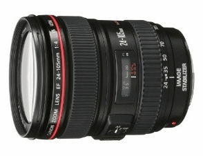 Canon EF 24 - 105mm f/4L IS USM Lens