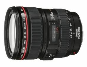 Canon EF 24 - 105mm f/4L IS USM Lens