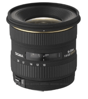 Signa 10 - 20mm f4 - 5.6 EX DC HSM Lense Wide Angle Screenshot