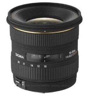 Signa 10 - 20mm f4 - 5.6 EX DC HSM Lense Wide Angle Screenshot
