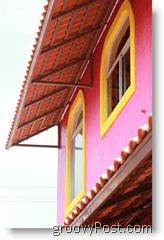 Mazatlan Mexico Pink House