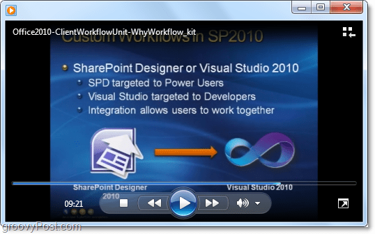 ClientWorkFlow tutorial video on Microsoft office  / sharepoint 2010 development