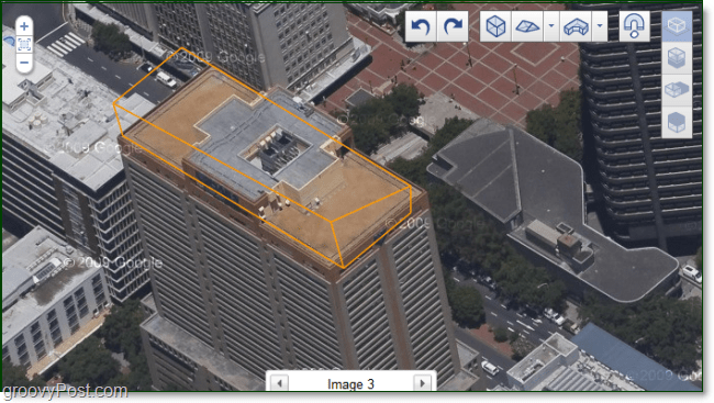Google Aerial Building Maker Screenshot