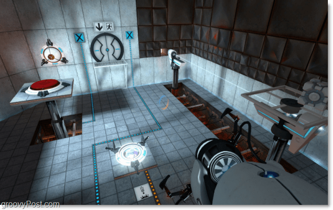portal game screenshot puzzle