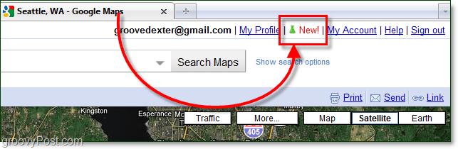 google maps labs icon