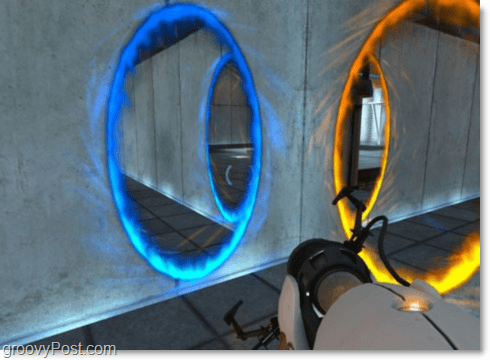 portal wall dilemna, left is right and right is left.