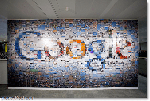 Googles Huge Photo Mosaic Logo