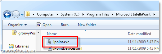 where ipoint.exe is located