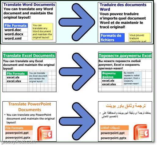 choose a doc translator document file type
