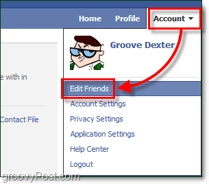 access your facebook list of eveything installed and linked to your account