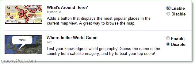 whats around here google maps rocks