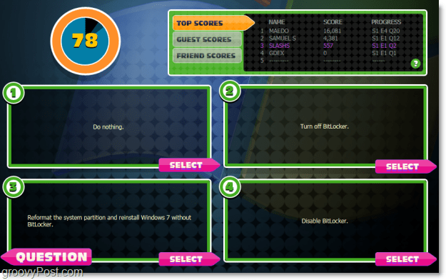 microsoft certification practice game