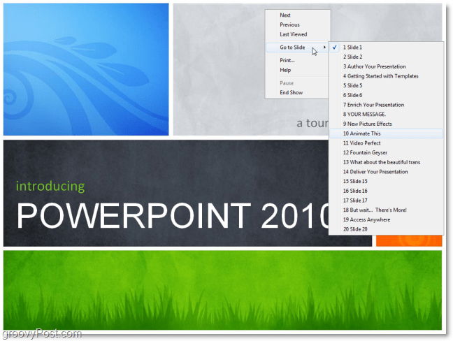 open powerpoint 2010 presentations without powerpoint
