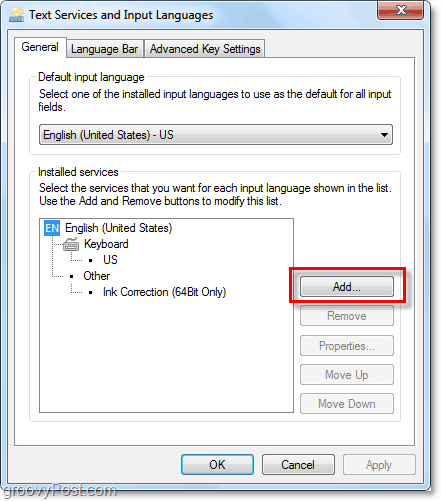 install a new keyboard layout for office 2010