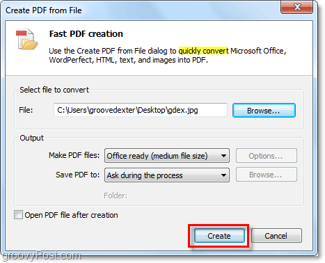 convert almost anythin to pdf