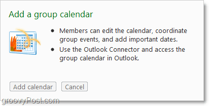 collaborate as a group using a calendar