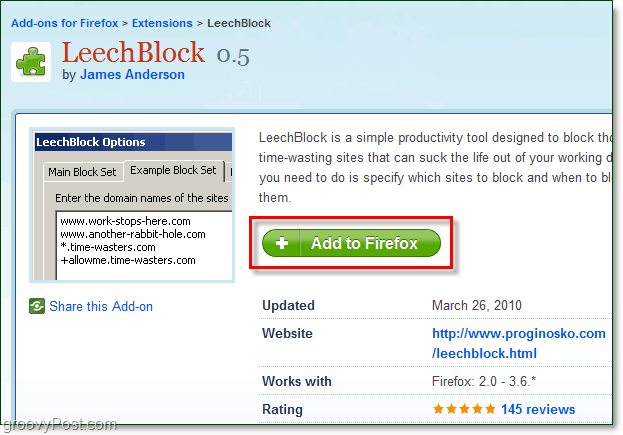 download leechblock for firefox