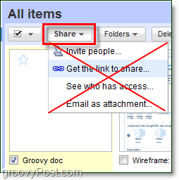 Google Docs changing the sharing button
