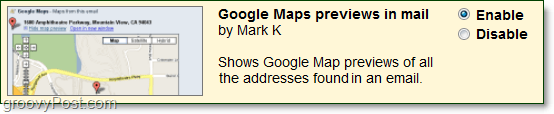 gmail labs google maps previews in mail