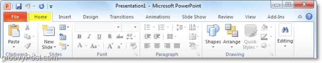 ribbon improvements to office 2010