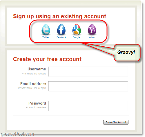 create an aviary account