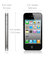 iPhone 4 Size Details