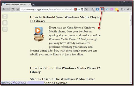 Screenshot Readability Redux