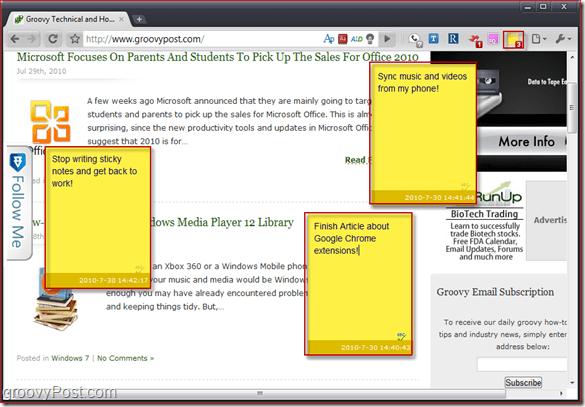 Screenshot - Note Anywhere