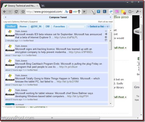 Screenshot Chromed Bird