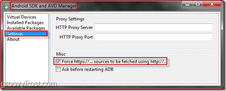 Forcing HTTPS To Download Through HTTP
