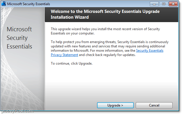 install microsoft security essentials 2.0 beta