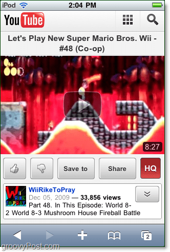youtube mobile html5 rocks