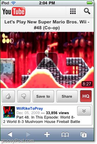 youtube mobile html5 rocks