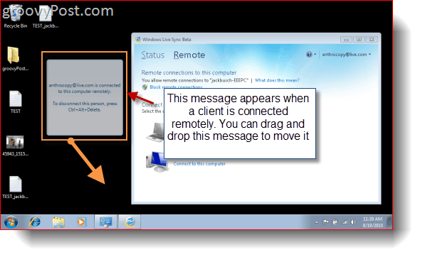 Windows Live Sync Beta